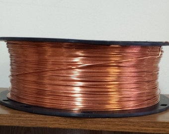 copper wire - 14 gauge copper wire - bare copper - 1000 ft. spool