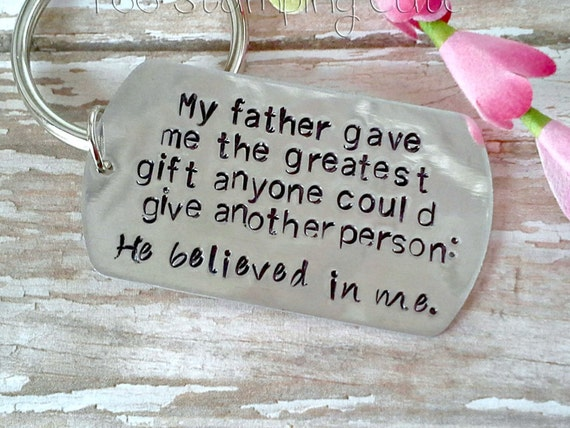 Father Daughter Keychain Fathers Day Gifts For Him Dads