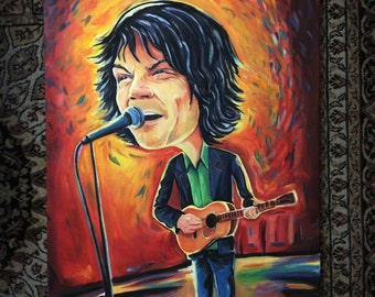 Jeff Tweedy Original Painting - Wilco Art