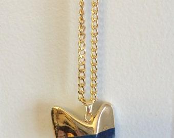 Shark Tooth Gemstone Necklace