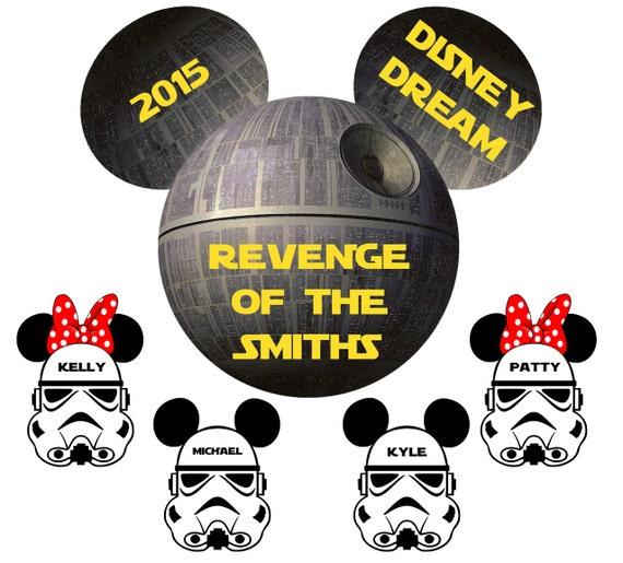 Disney Star Wars Dark Side Family Stateroom Door Magnets