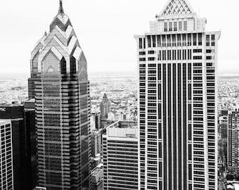 Philadelphia Skyline Aerial of Liberty Place