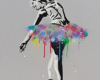 DAME Margot (Prima Ballerina) - Archival Pigment Print (Giclee)