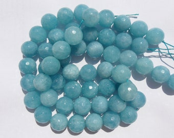 FACETED Turquoise (faceted) 14.5 mm