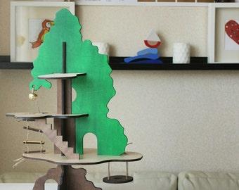 The Tree dollhouse