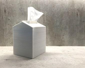3D Printed Tissue Box House