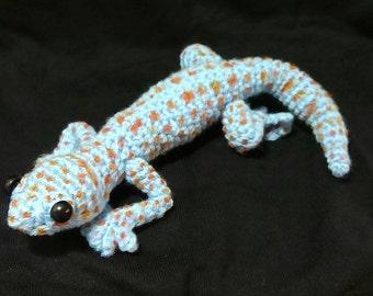 Charlotte the Tokay Gecko Amigurumi