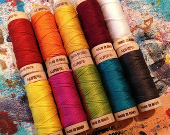 Aurifil Embroidery Floss collection - INKED