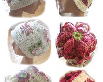 Efflorescence Hat Crochet Pattern