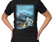 Jesus Saves the Sea Creatures T-Shirt - Funny Jesus TShirt - Mens and Ladies Sizes Small-3X