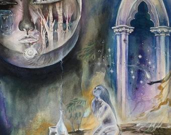 Other Lands II  // Faerie / Fantasy Art Print