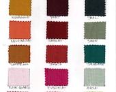 Silk Fabric Swatch for Custom Orders