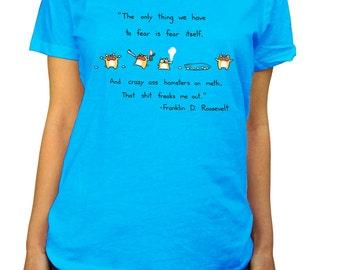 Hamsters on Meth Scoop Neck Tshirt - Cute Funny Hamster Shirt
