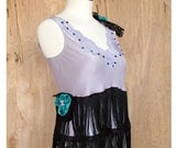 Upcycled Silk Camisole 20's Style S