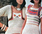 Knitting Patterns Crochet McCall's Needlework and Craft Spring 1977 Sweater Women Baby Cardigan Shawl Paper Original NOT a PDF