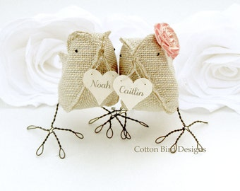 New!  Personalize with Names on Heart Wedding Cake Topper Wedding Decoration Gift for Newlyweds Wedding Anniversary Gift