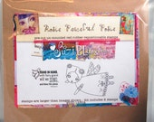 Rosie Peaceful Posie Fairy Rubber Stamp by Suzi Blu and Unity Stamp Co
