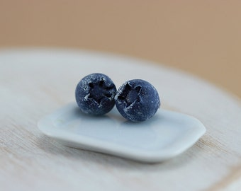 Blueberries - Studs / Post Earrings