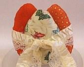 Orange Butterfly  Easter Egg Decoration Bowl Fillers