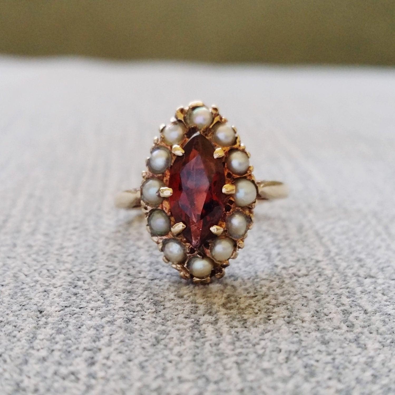 Victorian Seed Pearl Rings