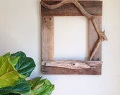 Custom Handmade Reclaimed Wood & Driftwood Art Frame