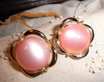 Vintage Pink Cono Earrings