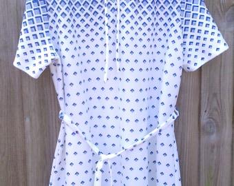 Vintage Size 18 20 Plus Size 1980s Dress