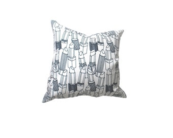 SALE! Lipsticks Decorative Pillow Cover Navy Blue