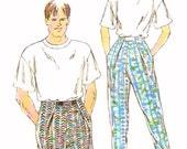 Unisex pants shorts Sewing pattern Kwik Sew 2040 Sz XS to XL UNCUT Modern casual