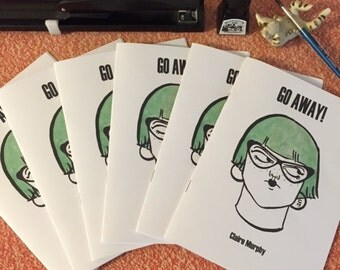 GO AWAY! zine