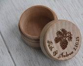 Rustic Wedding Favor, Pinecone Favor, Rustic Box