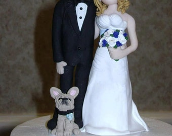 Custom wedding cake topper, personalized cake topper, Bride and groom cake topper, Mr and Mrs cake topper