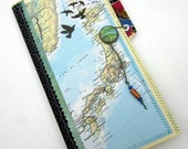 Travel Journal - Japan, Asia - One of a kind hand crafted blank book
