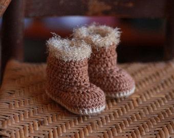 Baby Ugg Boots, Crochet Booties, Baby Gift