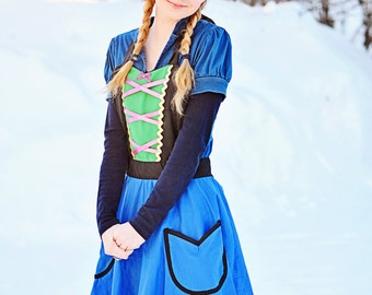 ANNA  apron for womens princess apron for baking or dress up