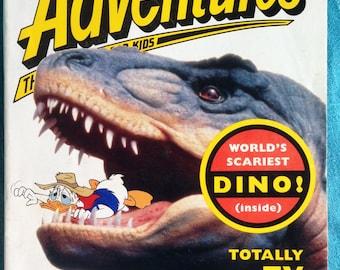 disney adventures magazine, october 1994 - jurassic park!
