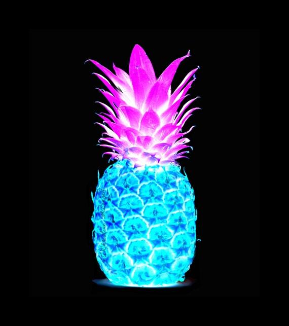 Pineapple Vibrant Pop Art Print Instant Digital Download