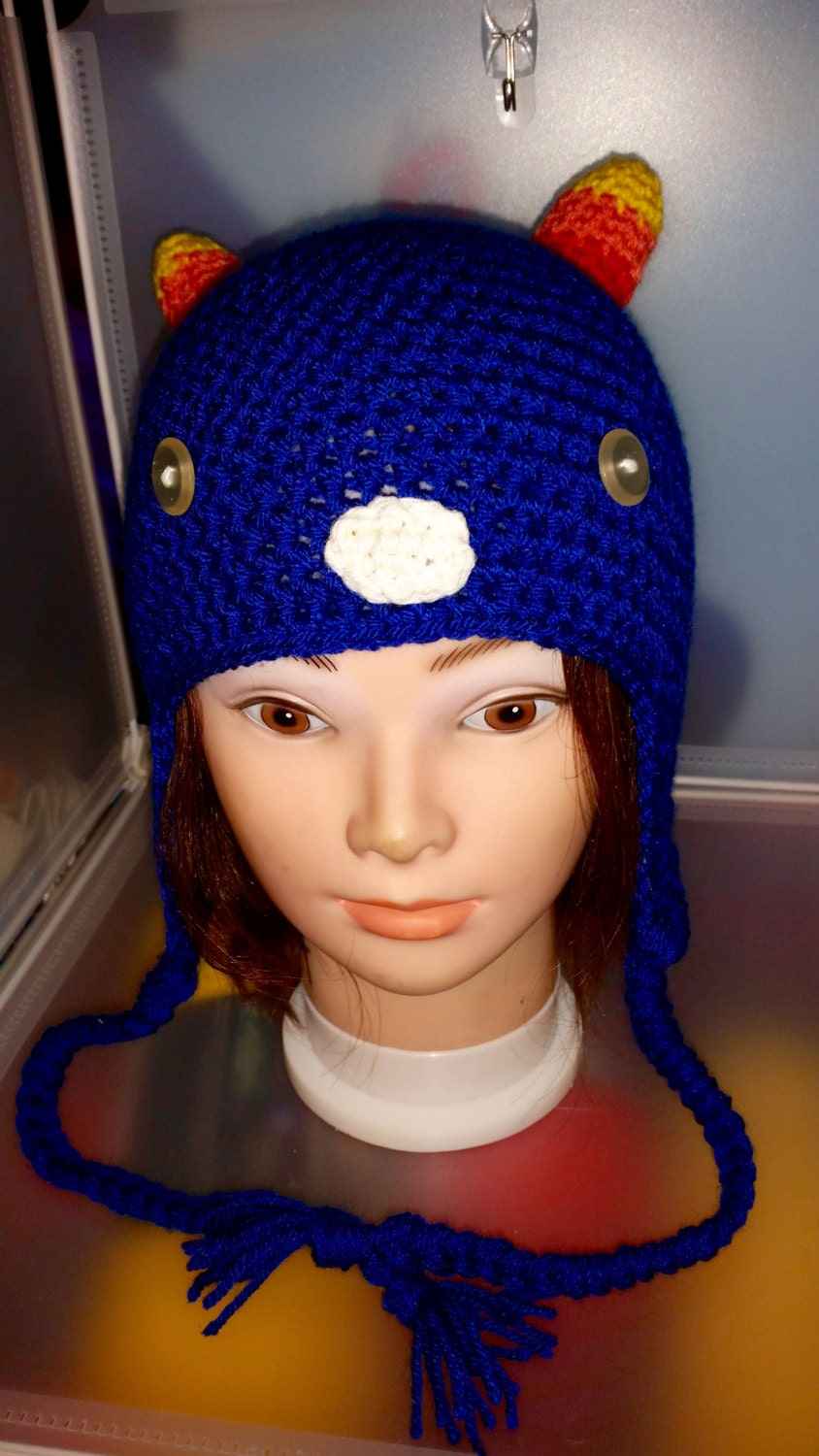 Crochet Earflap Beanie Cosplay Made to Order