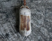 Healing Shard Necklace - Squirrel - Animal Medicine, Totem, Spirit Animal, Healing