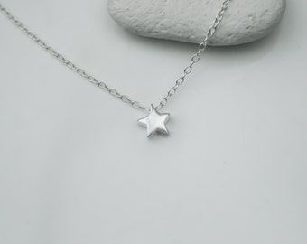The Tiniest Star Sterling Silver Necklace
