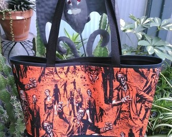 Zombies Shopping or Record Bag