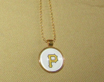 Pittsburgh Pirates Necklace, Pittsburgh Pirates Pendant, Pittsburgh Pirates Keychain