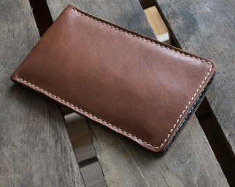 Galaxy S8, Galaxy S8+ Leather Sleeve  - RUM DIARY, Organic Leather