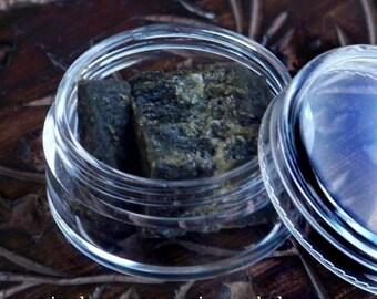 Premium BLACK AMBER Resin, 5 Grams All Natural Perfume Incense for Sensuality, Meditation, Mysticism, Magic