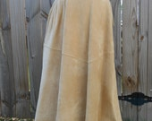 NEW - Pig Skin Suede Lined Skirt Lined Ladies Size 14 by SKYR Sportswear - VINTAGE New with Tags