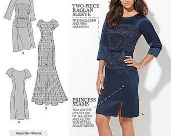 Amazing Fit Dresses - Simplicity 1249 - New Sewing Pattern, Sizes 10, 12, 14, 16, and 18