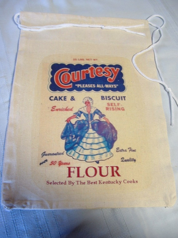 Cake Decorating Corn Flour Bag : COURTSEY FLOUR Novelty Flour Sack Bag Selected by ...