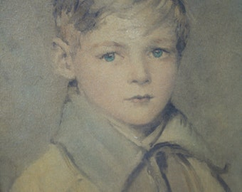 Beautiful Portrait of Little Boy Art