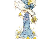 Holly Hobbie - Sarah Kay - no5 - A4 Digital Collage Sheet - Printable - For unlimited number of prints