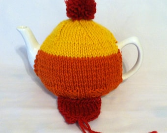 To Keep You Warm in Your Travels Tea Cosy - a sweater for your teapot, made with love